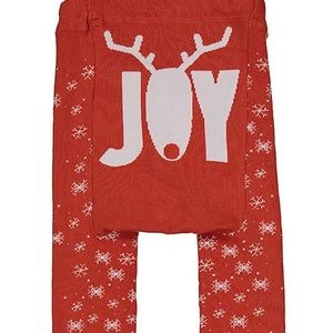 Reindeer ❄️ Doodle Pants. NWT. Size 3-12 months.